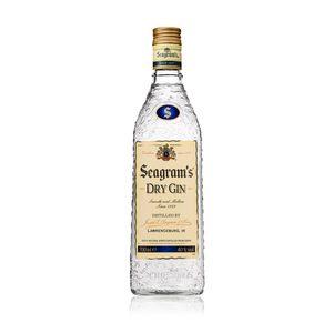 SEAGRAM'S ginebra botella 70 cl