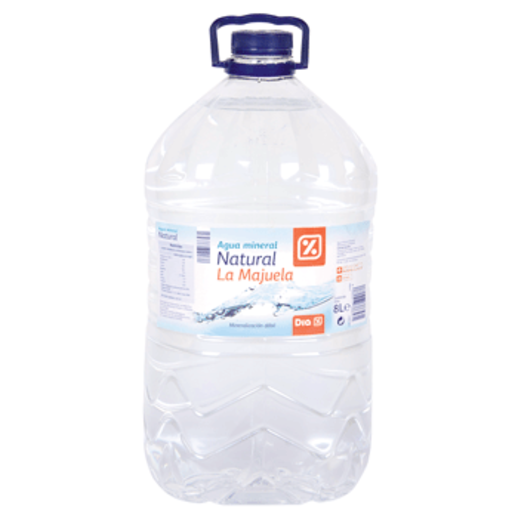 DIA agua mineral natural botella 8 l