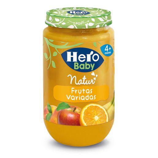 HERO Baby frutas variadas tarrito 235 gr