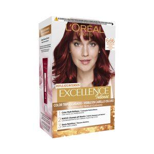 EXCELLENCE INTENSE tinte Rojo Escarlata Intenso Nº 6,66 caja 1 ud