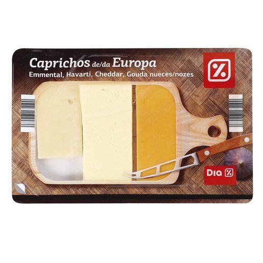 DIA tabla de quesos internacionales 150 gr