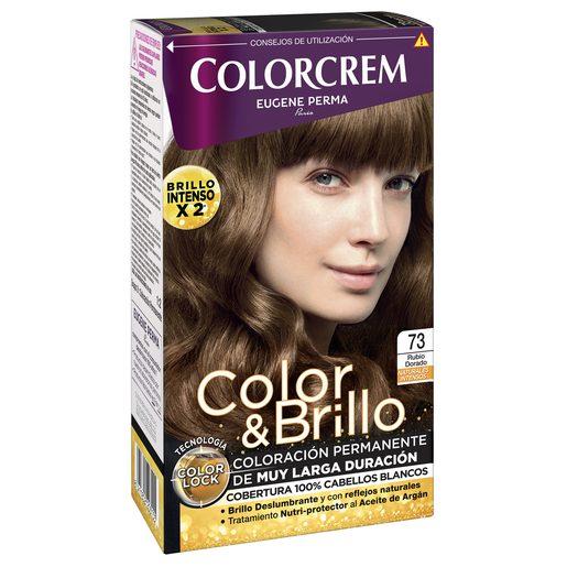 COLORCREM tinte Rubio Dorado Nº 73 caja 1 ud