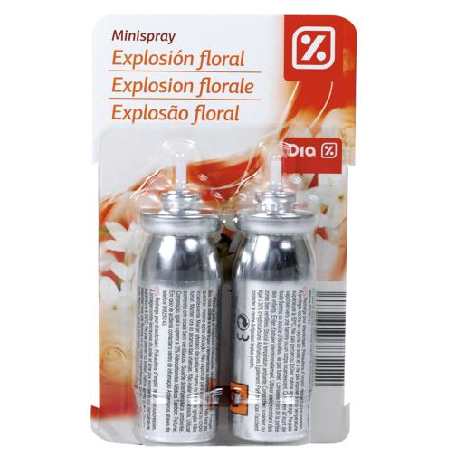 DIA ambientador purificador mini spray aroma floral recambio 2 uds