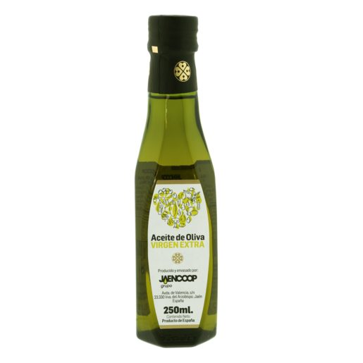 JAENCOOP aceite de oliva virgen extra botella 250 ml