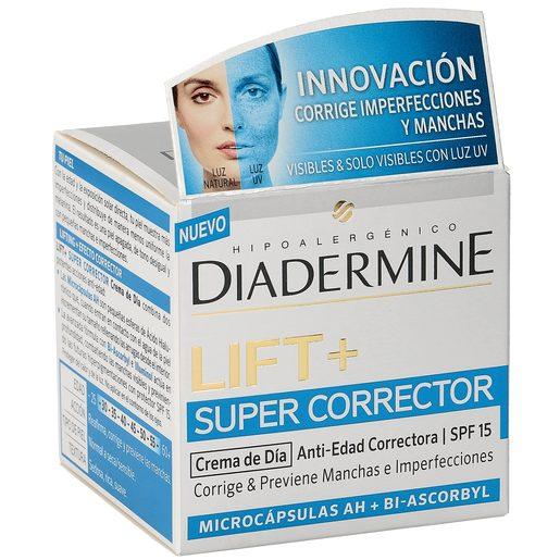 DIADERMINE Lift+ super corrector crema de día antiedad spf 15 tarro 50 ml