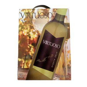 VIRTUOSO vino blanco caja 3 lt
