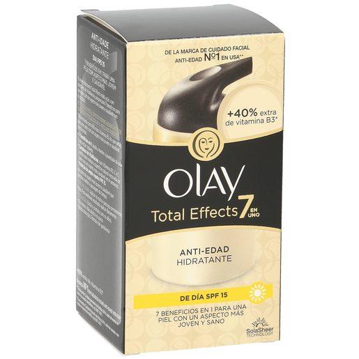 OLAY Total effects 7 en 1 crema hidratante de día antiedad spf 15 caja 50 ml