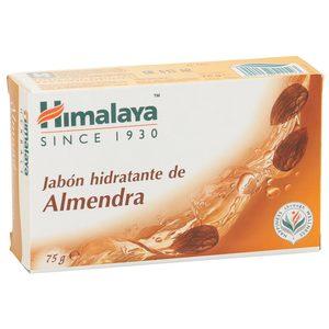 HIMALAYA jabón hidratante de almendras pastilla 75 gr
