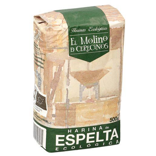 EL MOLINO DE CERECINOS harina de espelta ecológica paquete 500 gr