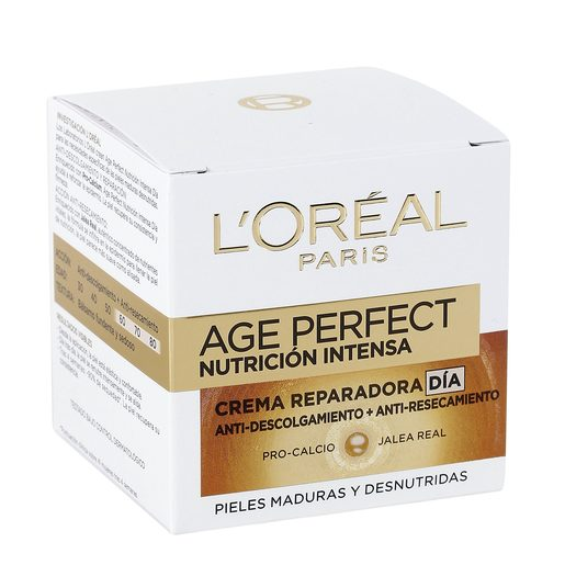 L'OREAL Age perfect crema facial de día nutrición intensa tarro 50 ml