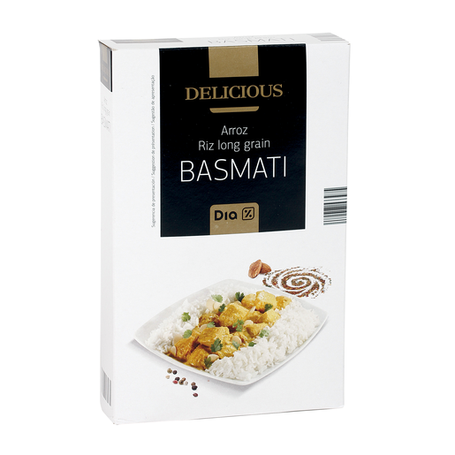 DIA DELICIOUS arroz basmati paquete 1 Kg