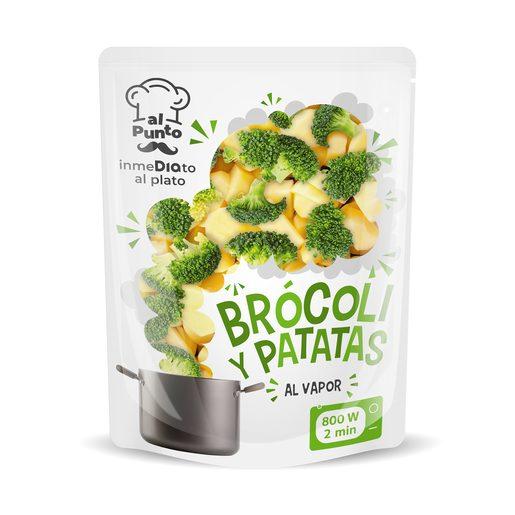 AL PUNTO brócoli y patatas bolsa 250 gr