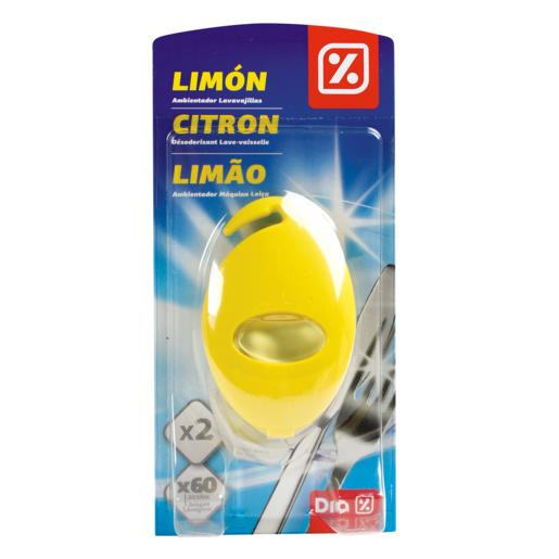 DIA ambientador para máquina lavavajillas aroma limón paquete 2 ud