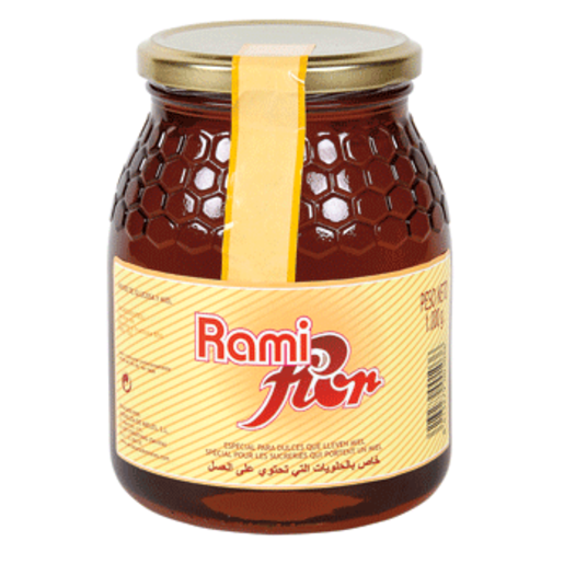 RAMIFLOR jarabe glucosa y miel frasco 1 Kg
