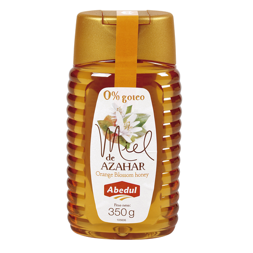 ABEDUL miel de azahar bote 350 gr