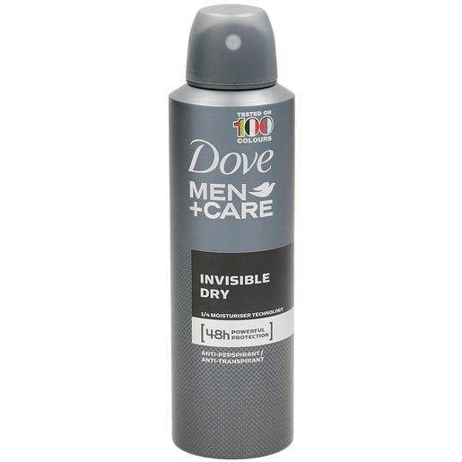 DOVE Men desodorante invisible dry spray 200 ml