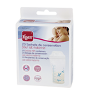 TIGEX bolsas de conservación para leche materna 20 uds
