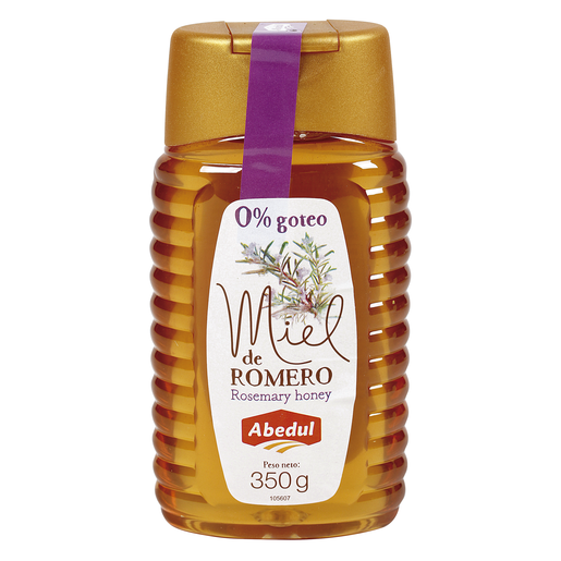 ABEDUL miel de romero bote 350 gr