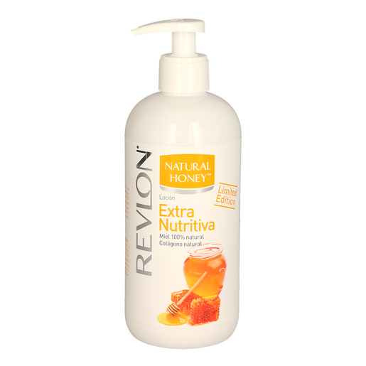 NATURAL HONEY loción corporal extra nutritiva dosificador 400 ml