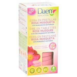 DAEN cera en pastillas rosa mosqueta 260 gr