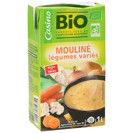 CASINO BIO puré de verduras y hortalizas envase 1 lt