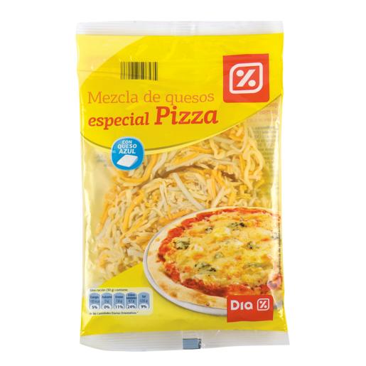 DIA queso rallado mezcla especial para pizza bolsa 175 g