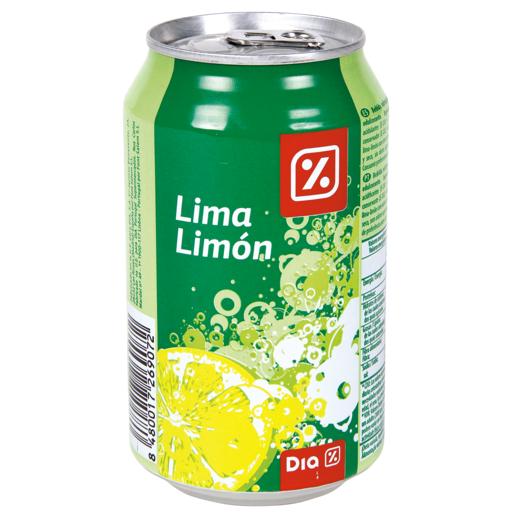 DIA refresco lima limón lata 33 cl