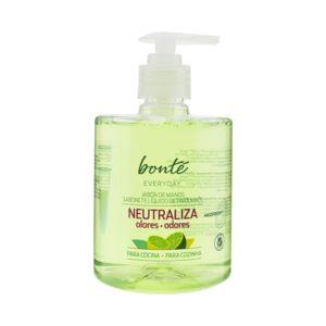 BONTE jabón líquido de manos citríco y fresco dosificador 500 ml