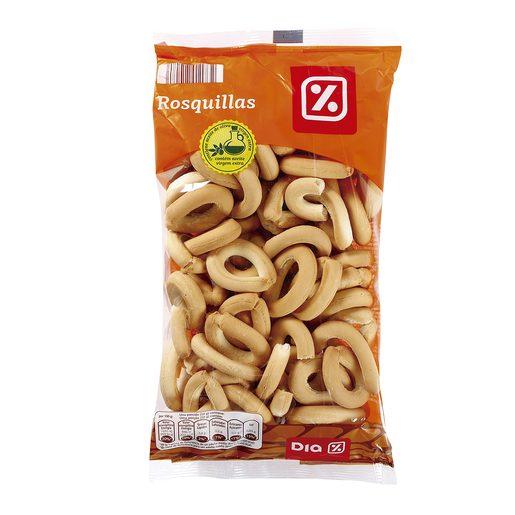 DIA rosquillas de pan bolsa 250 gr