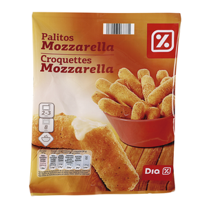 DIA palitos de mozzarella bolsa 400 gr