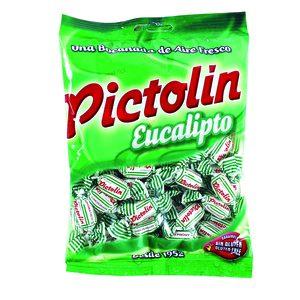 PICTOLIN caramelo eucalipto bolsa 300 gr