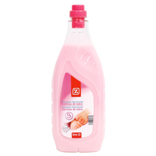 DIA suavizante concentrado caricias de talco botella 2 lt