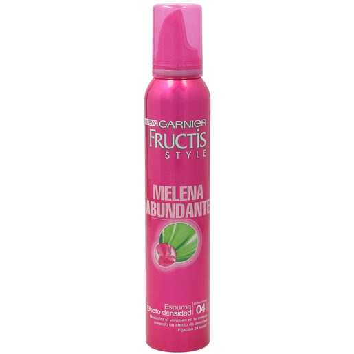 FRUCTIS espuma melena abundantemaximiza el volumen de tu pelo spray 200 ml