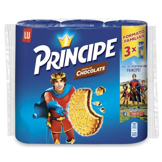 LU PRINCIPE galletas rellenas de crema de chocolate pack 3 x 300 gr