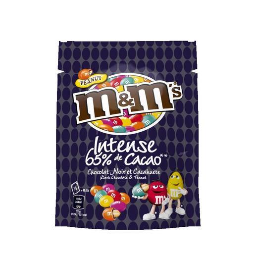 M&M's cacahuete con chocolate intense 65% cacao bolsa 187 gr