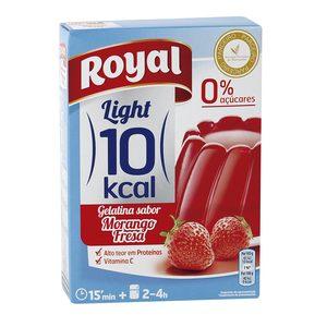 ROYAL Light gelatina sabor fresa 0% azucares caja 31 gr