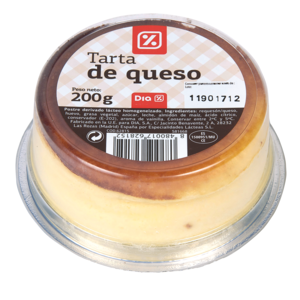 DIA tarta de queso envase 200 gr