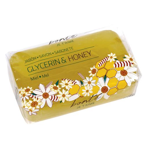 BONTE jabón de glicerina con miel 100 gr