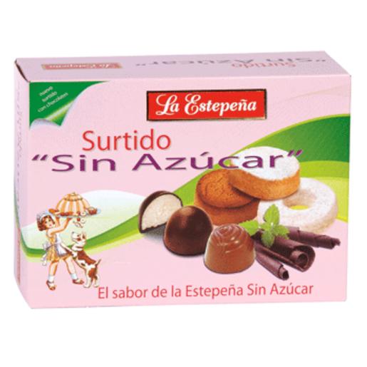 LA ESTEPEÑA surtido polvorones sin azúcar caja 300 gr