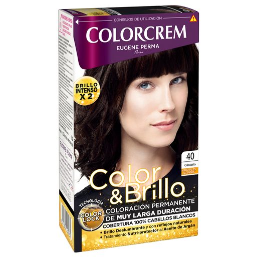 COLORCREM tinte Castaño Nº 40 caja 1 ud
