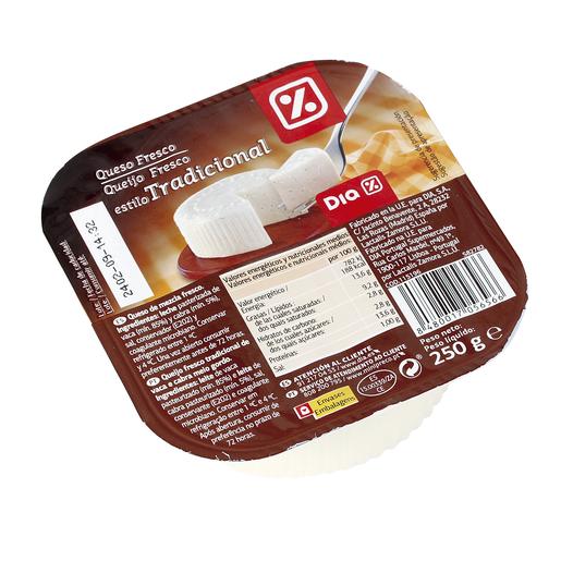 DIA queso fresco de burgos tradicional envase  250 g