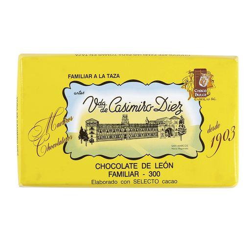VIUDA DE CASIMIRO DIEZ chocolate a la taza tableta 300 gr