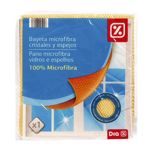 DIA bayeta microfibra cristales y espejos bolsa 1 ud