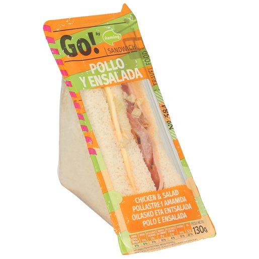 ÑAMING Go sandwich de pollo y ensalada envase 130 gr