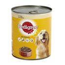 PEDIGREE paté para perros con pollo lata 800 gr