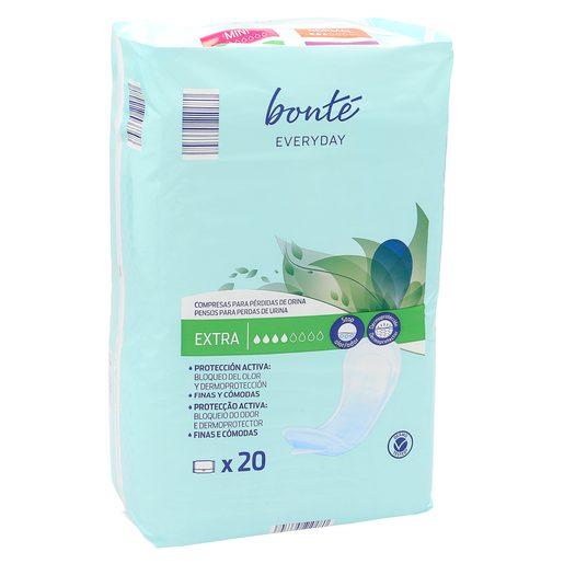 BONTE compresas de incontinencia extra bolsa 20 uds
