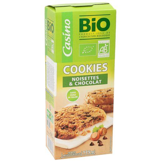CASINO BIO galletas cookies caja 175 gr