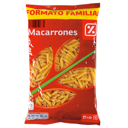 DIA macarrón paquete 1 kg