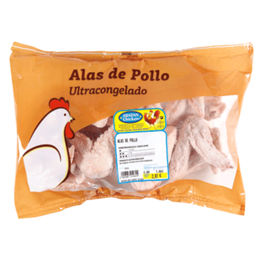 Alas de pollo bolsa (peso aprox. 1.1 Kg)
