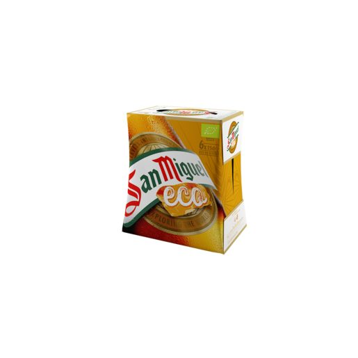 SAN MIGUEL cerveza eco pack 6 botellas 25 cl
